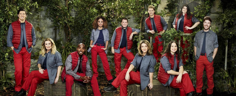 "Der Cast von ""I'm A Celebrity…Get Me Out Of Here!"" 2020 – Bild: ITV/Joel Anderson"