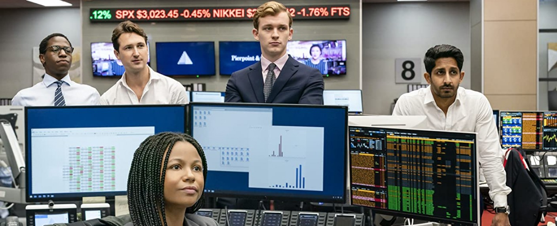 Die jungen Absolventen in der Londoner Investmentbank Pierpoint & Co. – Bild: HBO