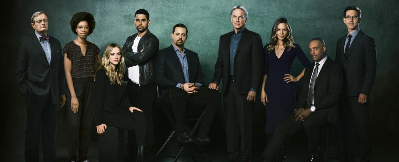 """Der Cast von """"Navy CIS"""" in der 16. Staffel – Bild: CBS"""