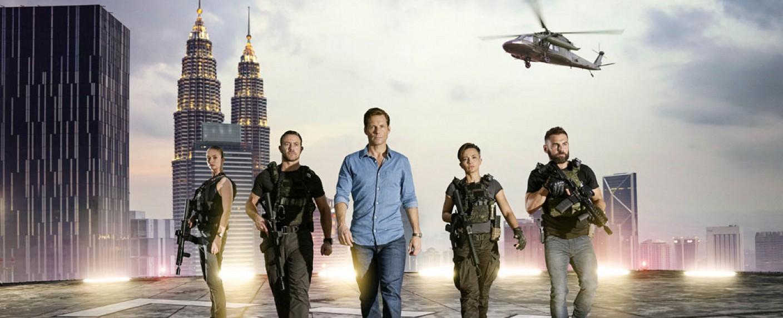"""Der Serien-Cast der vorherigen Staffel, """"Strike Back: Revolution"""" – Bild: Cinemax"""