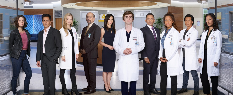"""Der Cast von """"The Good Doctor"""" in der zweiten Staffel – Bild: TVNOW / © 2018, 2019 Sony Pictures Television Inc. and Disney Enterprises, Inc. All Rights Reserved."""