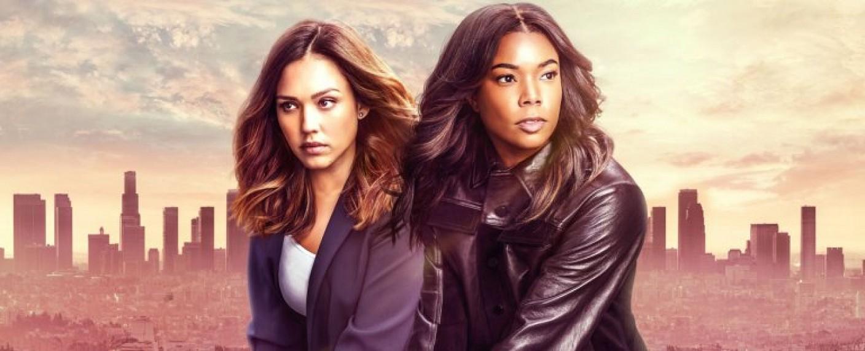 """Detectives Nancy McKenna (Jessica Alba) und Syd Burnett (Gabrielle Union) in """"L.A.'s Finest"""" – Bild: Sony Pictures TV"""