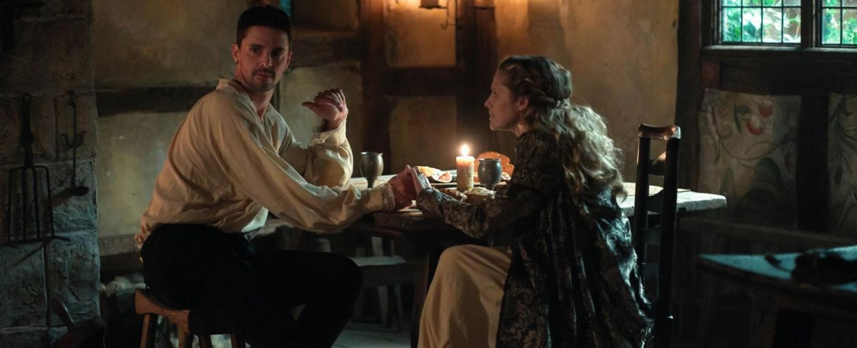 """Diana (Teresa Palmer) und Matthew (Matthew Goode) in der Episode """"Gefährliche Rivalität"""" von """"A Discovery of Witches"""" – Bild: Sky One"""