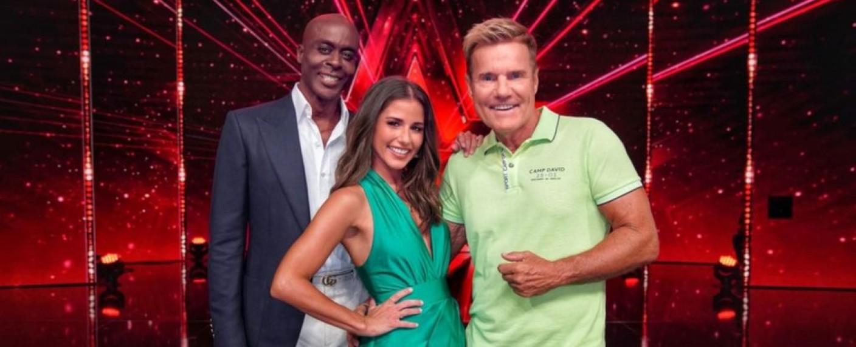 """Die aktuelle """"Supertalent""""-Jury: Bruce Darnell, Sarah Lombardi und Dieter Bohlen – Bild: RTL"""