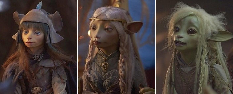 """Die drei Protagonisten in """"Der dunkle Kristall: Ära des Widerstands"""" – Bild: Netflix"""
