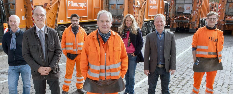"""""""Die Drei von der Müllabfuhr"""" – Bild: ARD Degeto/Britta Krehl"""