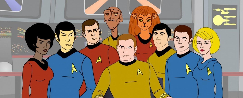 """So sah die erste """"Star Trek""""-Zeichentrickserie """"Die Enterprise"""" aus – Bild: Paramount"""