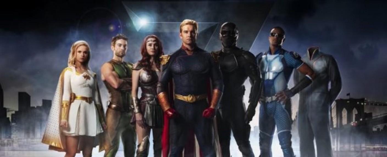 "Die Gegenspieler in ""The Boys"": Die Superhelden-Gruppe ""Seven"" – Bild: Amazon/Prime Video"