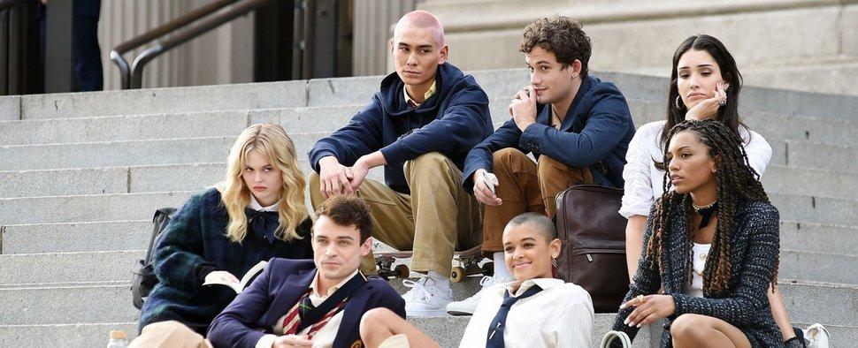 """Die Hauptdarsteller der """"Gossip Girl""""-Neuauflage – Bild: HBO Max"""