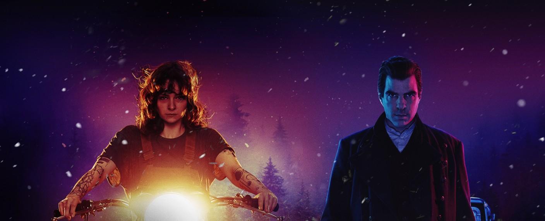 """Licht und Schatten in der Key-Art zur zweiten Staffel von """"NOS4A2"""" – Bild: AMC"""