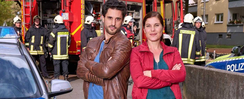 """Die Klempnerin"" mit Jan Kittmann und Yasmina Djaballah – Bild: MG RTL D / Frank Dicks"