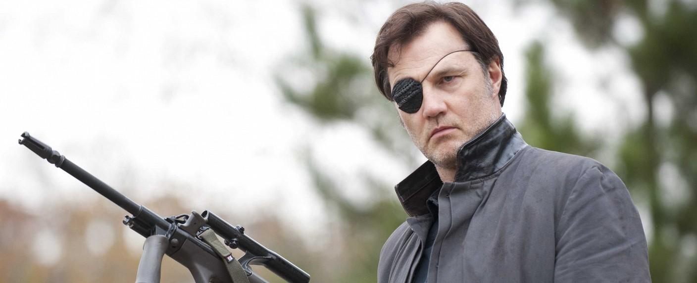 """Die neue Rolle von David Morrissey ist erneut martialisch – hier als """"The Governor"""" in """"The Walking Dead"""" – Bild: AMC"""
