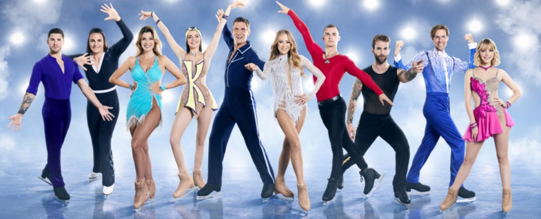 """Die Promis der zweiten Staffel """"Dancing on Ice"""" – Bild: SAT.1/Marc Rehbeck"""