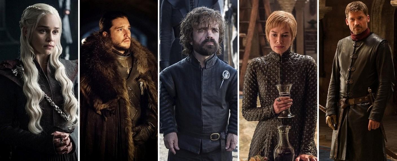 """Protagonisten aus """"Game of Thrones"""" – Bild: HBO"""