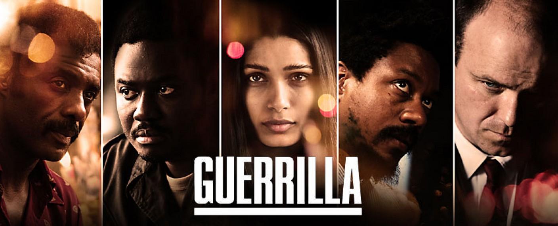 "Die Protagonisten von ""Guerrilla"": (v.l..) Idris Elba, Babou Ceesay, Freida Pinto, Nathaniel Martello-White, Rory Kinnear – Bild: Showtime"