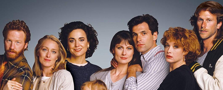 """Die Protagonisten von """"Thirtysomething"""" in der ersten Staffel: Elliot, Nancy, Ellyn, Hope, Michael, Melissa und Gary – Bild: MGM"""
