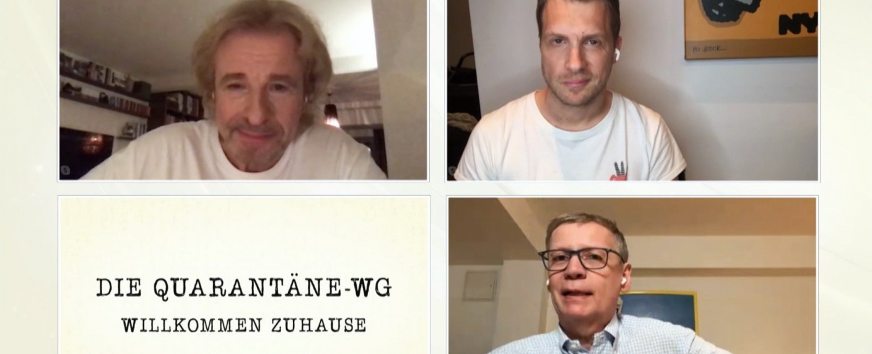 """Die Quarantäne-WG"" – Bild: TVNOW"