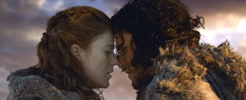 Die Realität übertrifft die Kunst: Ygritte-Darstellerin Rose Leslie und Jon-Snow-Mime Kit Harington erwarten Nachwuchs – Bild: HBO