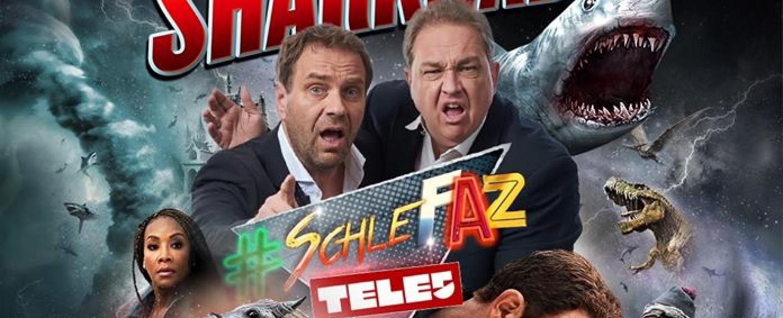 """Die """"SchleFaZ""""-Adventsstaffel 2018 startet mit """"Sharknado 6"""" – Bild: Tele 5"""