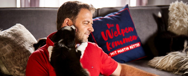 """""""Die Welpen kommen"""" mit Martin Rütter – Bild: MG RTL D / Arya Shirazi"""
