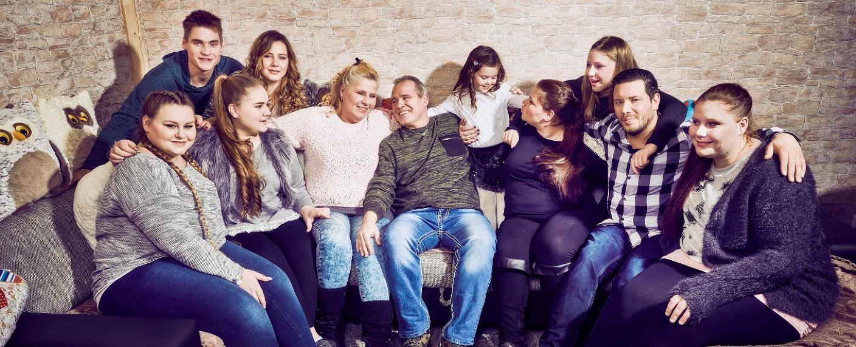 """Die Wollnys"" – Bild: RTL II"