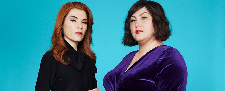 """""""Dietland"""" mit Julianna Margulies (l.) und Joy Nash (r.) – Bild: AMC Networks"""