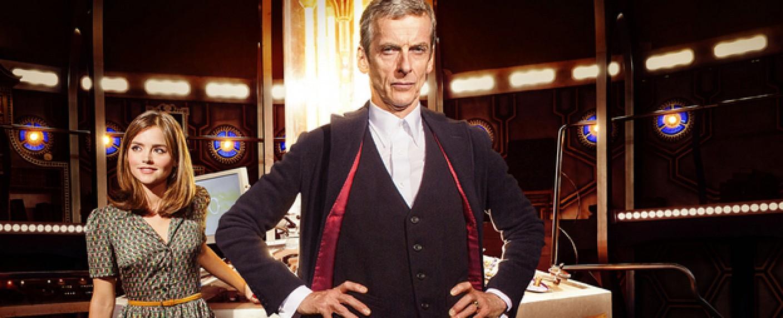 """Clara (Jenna Coleman) und der Doctor (Peter Capaldi) in """"Doctor Who"""" – Bild: BBC"""