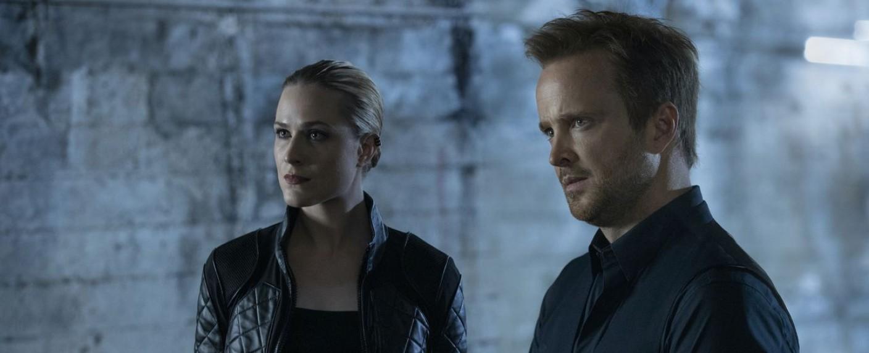 Dolores (Evan Rachel Wood) und Caleb (Aaron Paul) – Bild: HBO