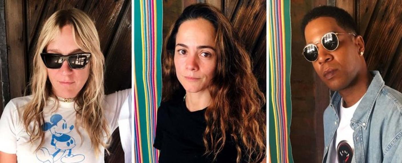 """Drei der Hauptdarsteller: Chloe Sevigny, Alice Braga und Kid Cudi von """"We Are Who We Are"""" – Bild: Luca Guadagnino via Instagram/HBO"""