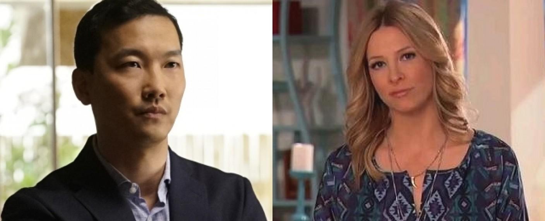Eddie Shin (l.) und Jolie Jenkins (r.) – Bild: HBO/Disney Channel