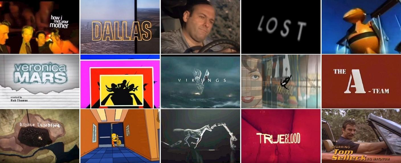 Eine Zeitreise durch die Gesichte der Opening Credits – Bild: Collage: TV Wunschliste