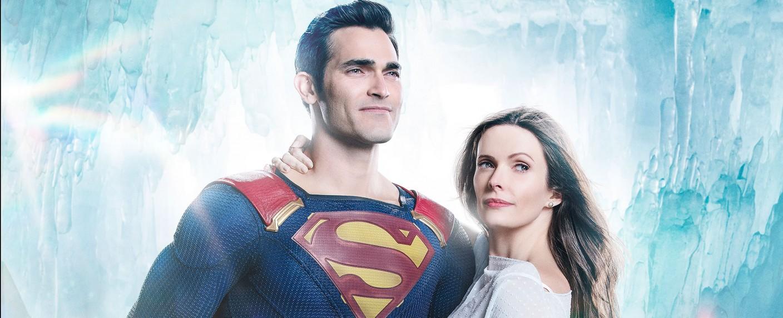"""Elizabeth Tulloch als Lois Lane und Tyler Hoechlin als Superman im """"Arrowverse""""-Crossover """"Elseworlds"""" – Bild: The CW"""