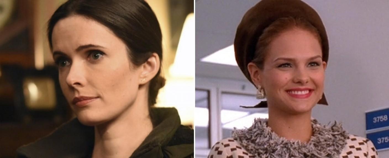 "Elizabeth Tulloch (l.) und Cassandra Jean Amell (r.) verstärken das jüngste ""Arrowverse""-Crossover – Bild: NBC/AMC"