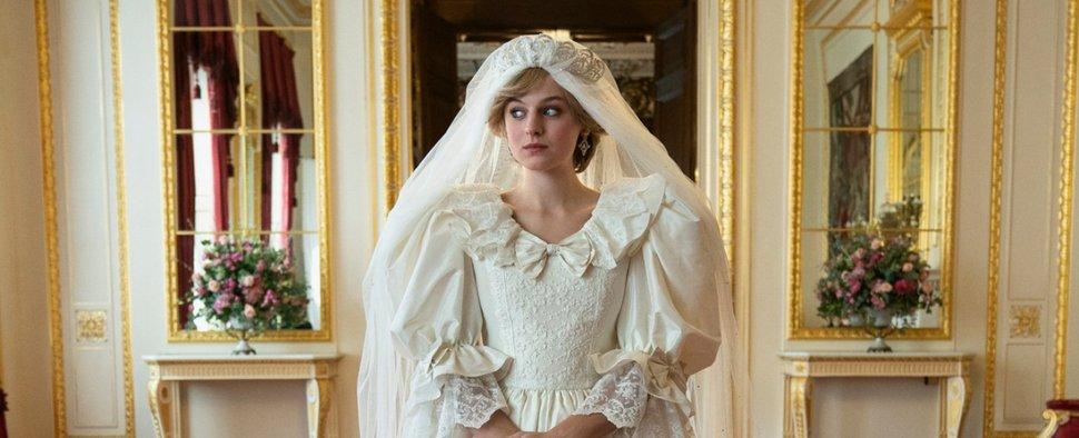 """Emma Corrin gewann für ihre Rolle als Lady Diana in """"The Crown"""" einen Golden Globe – Bild: Netflix"""