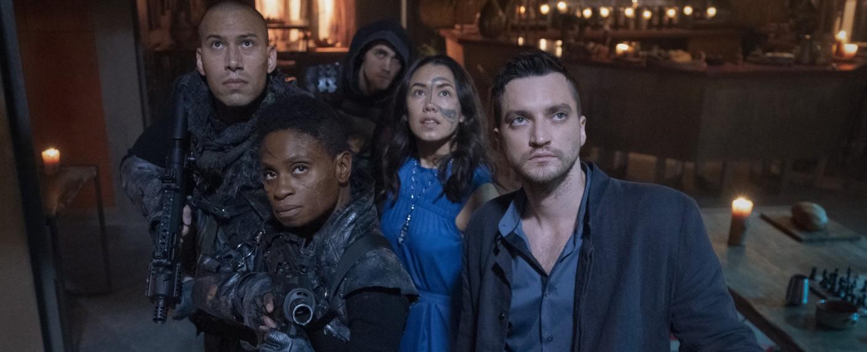 "Episodenbild aus ""A Little Sacrifice"" (""The 100"", Folge 7x10) – Bild: The CW"