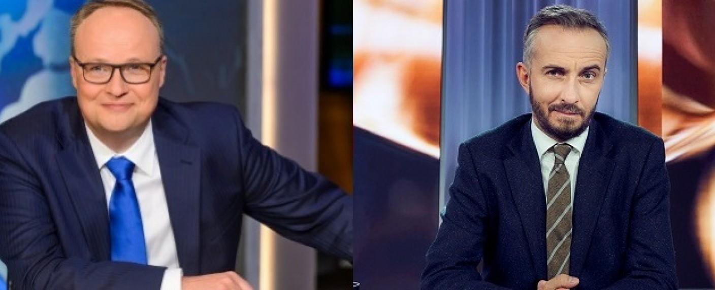 Erfolgreiches Doppel: Oliver Welke (l.) und Jan Böhmermann (r.) – Bild: ZDF/Willi Weber/ZDF/Jens Koch
