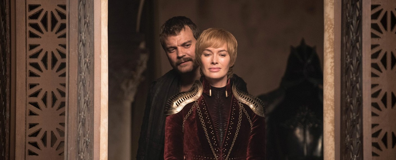 """Euron (Pilou Asbæk) und Cersei (Lena Headey) in Episode 4 der achten Staffel von """"Game of Thrones"""" – Bild: HBO"""
