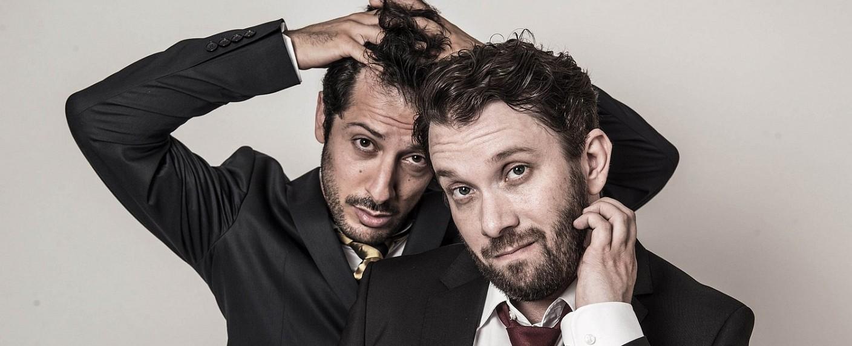 """Fahri Yardim und Christian Ulmen sind die Hauptdarsteller von """"Jerks"""" – Bild: maxdome/ProSieben/André Kowalski"""