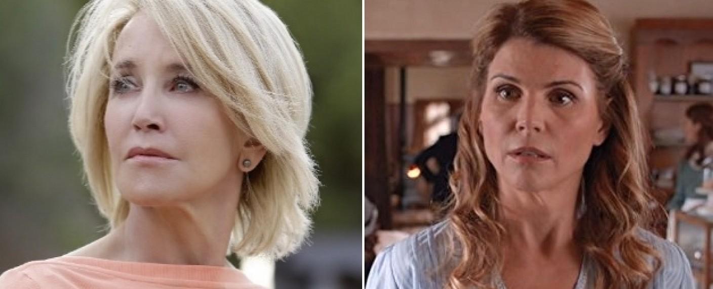 Felicity Huffman (l.) und Lori Loughlin (r.) wurden angeklagt. – Bild: ABC/Hallmark