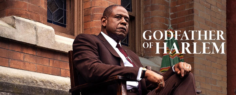 """Forest Whitaker ist der """"Godfather of Harlem"""" – Bild: Epix"""