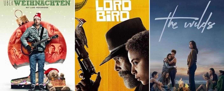 """Gehören zu den als besten geschätzten Serien: """"ÜberWeihnachten"""", """"The Good Lord Bird"""" und """"The Wilds"""" – Bild: Netflix; Showtime; Prime Video"""