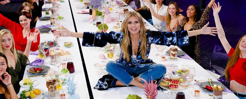 """""""Germany's Next Topmodel"""" mit Heidi Klum – Bild: ProSieben/Richard Hübner"""
