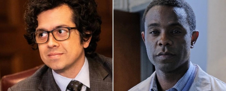 """""""Goliath"""": Geoffrey Arend (l.) und Brandon Scott (r.) sind in der letzten Staffel neu mit dabei – Bild: CBS/ABC Family"""