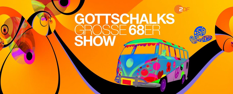 """""""Gottschalks große 68er Show"""" – Bild: ZDF/UMBRUCH kommunikation design"""