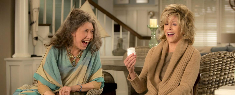 """""""Grace und Frankie"""" haben gut Lachen. – Bild: Netflix"""