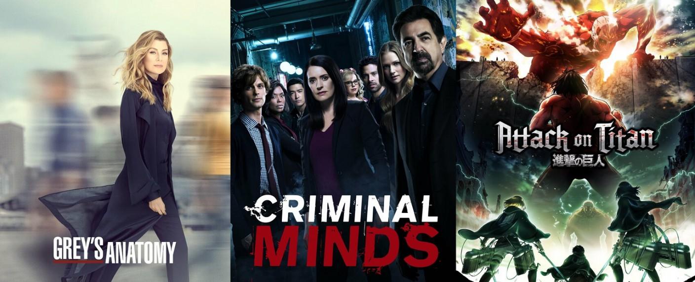"""""""Grey's Anatomy"""", """"Criminal Minds"""" und """"Attack on Titan"""" – Bild: ABC/ABC Studios/ProSieben MAXX"""