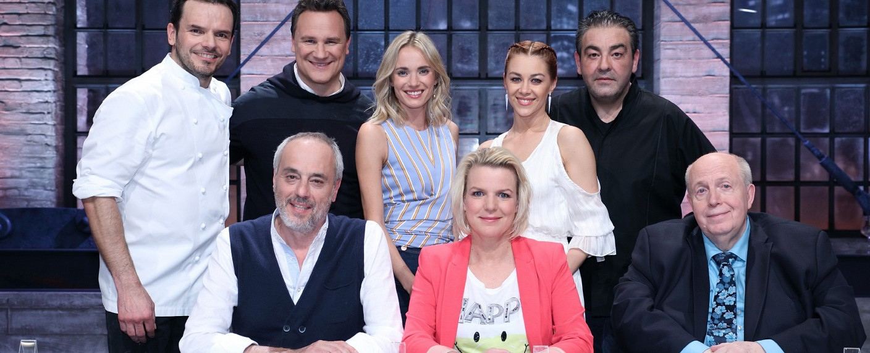 """Grill den Henssler"": Die Teilnehmer des Staffelauftakts 2019 – Bild: TVNOW / Frank W. Hempel"