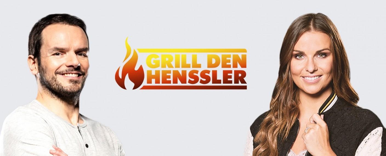 """""""Grill den Henssler"""": Steffen Henssler und die neue Moderatorin Laura Wontorra – Bild: TVNOW/Phillipp Rathmer/Boris Breuer"""