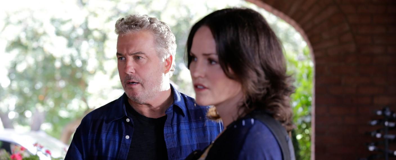"""Grissom (William Petersen) und Sara Sidle (Jorja Fox) in """"CSI"""". – Bild: CBS"""