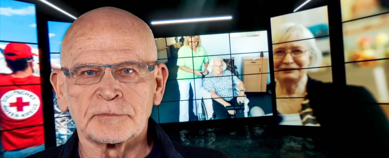 Günter Wallraff und sein Team recherchierten undercover beim Deutschen Roten Kreuz. – Bild: TVNOW